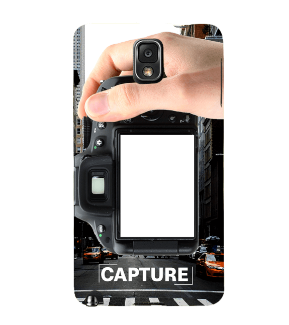 Capture Photo Back Cover for Samsung Galaxy Note 3