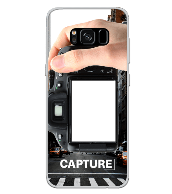 Capture Photo Back Cover for Samsung Galaxy S8