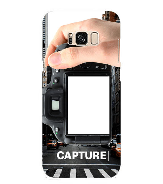 Capture Photo Back Cover for Samsung Galaxy S8 Plus