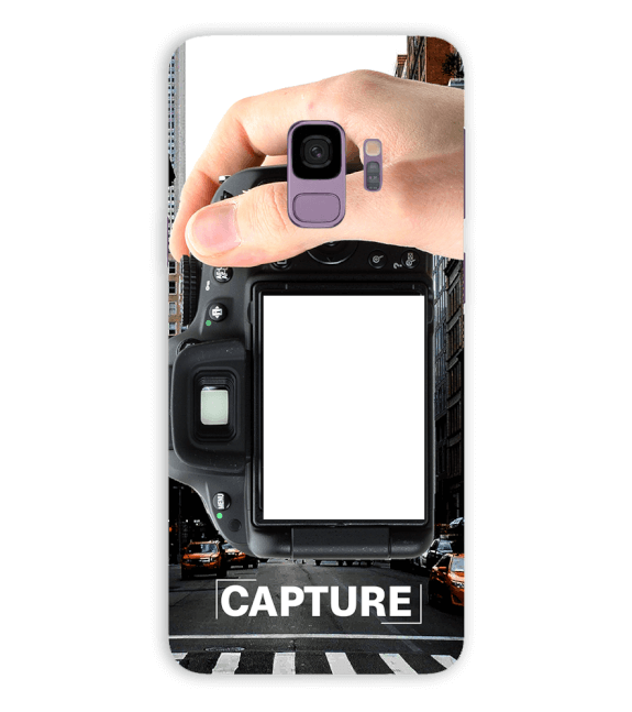 Capture Photo Back Cover for Samsung Galaxy S9