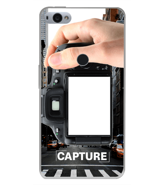 Capture Photo Back Cover for Smartron SRT Phone