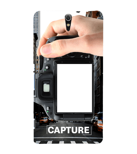 Capture Photo Back Cover for Sony Xperia C5