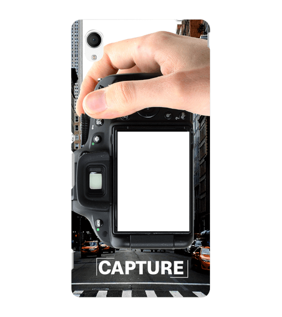 Capture Photo Back Cover for Sony Xperia M4 Aqua