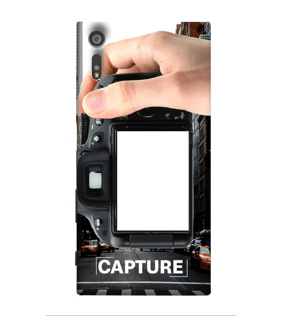 Capture Photo Back Cover for Sony Xperia XR
