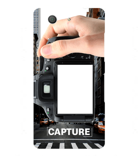 Capture Photo Back Cover for Sony Xperia Z3+ and Xperia Z4