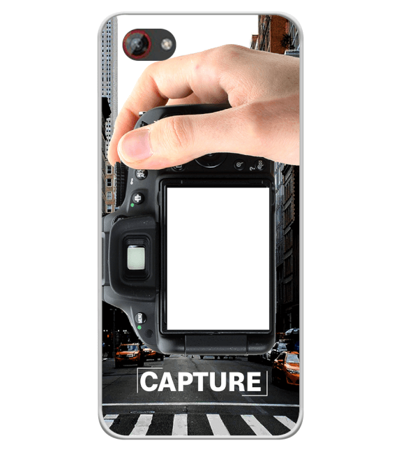 Capture Photo Back Cover for Spice F301