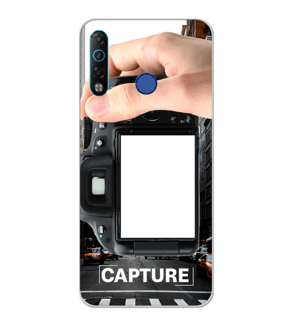 Capture Photo Back Cover for Tecno Camon 12 Air