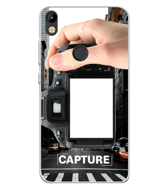 Capture Photo Back Cover for Tecno Camon I