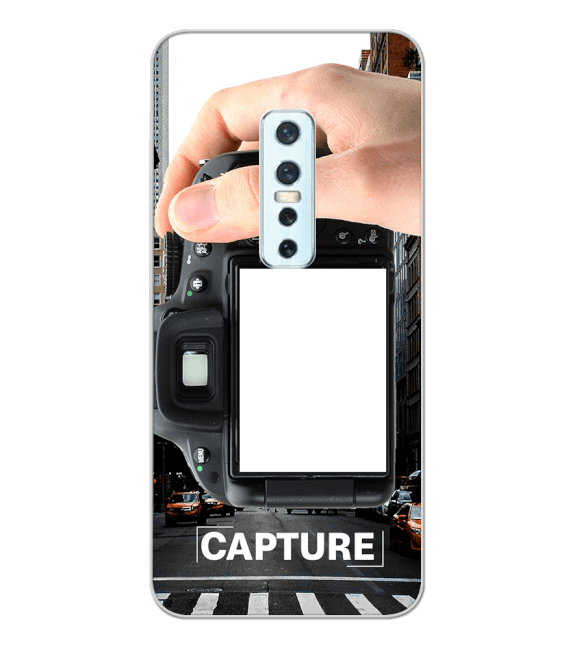 Capture Photo Back Cover for Vivo V17 Pro
