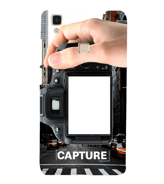 Capture Photo Back Cover for Vivo V3Max