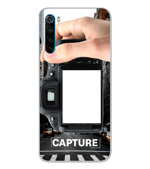 Capture Photo Back Cover for Xiaomi Redmi Note 8