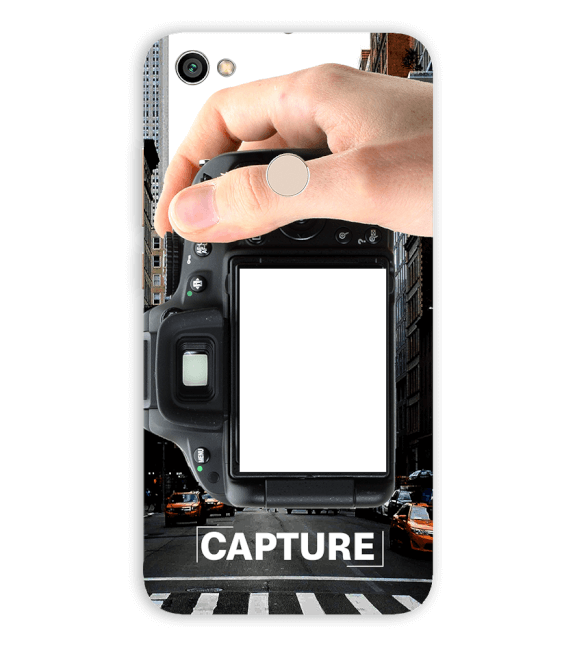 Capture Photo Back Cover for Xiaomi Redmi Y1