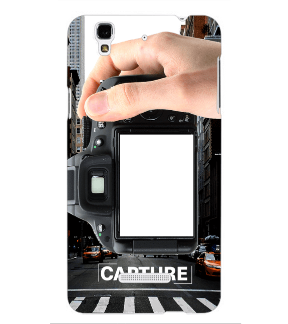 Capture Photo Back Cover for Yu Yureka Plus
