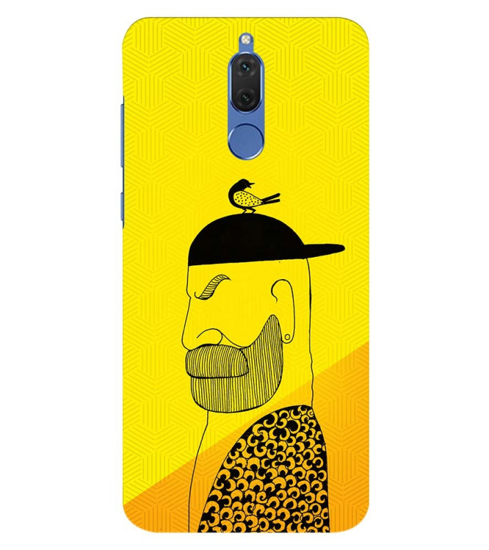 Common man Back Cover for Honor 10 Lite