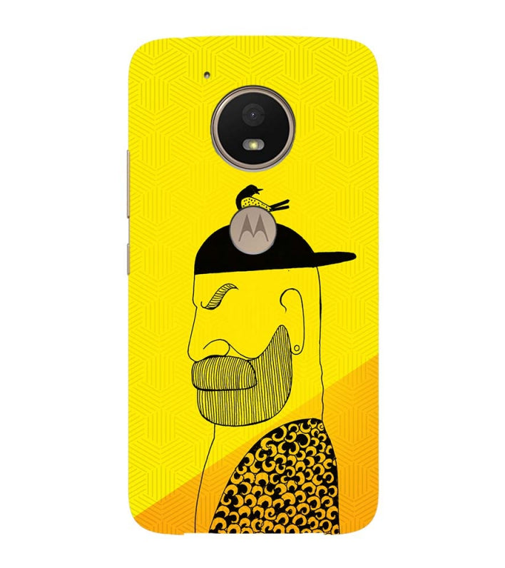 Common man Back Cover for Motorola Moto E4