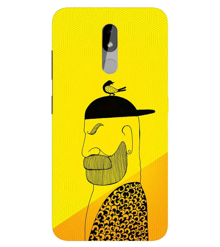 Common man Back Cover for Nokia 3.2