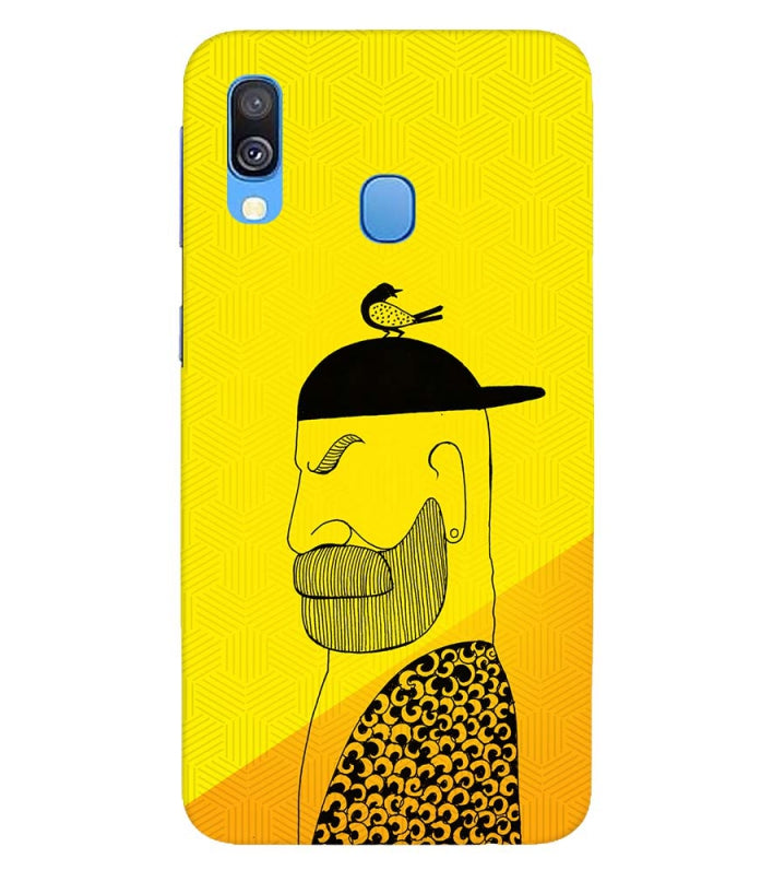Common man Back Cover for Samsung Galaxy A40