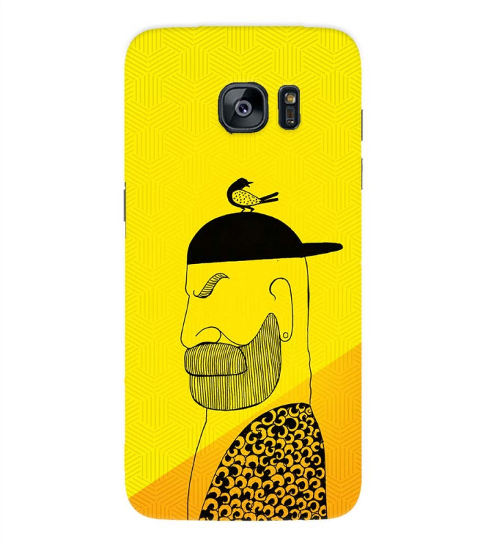 Common man Back Cover for Samsung Galaxy S7 Edge