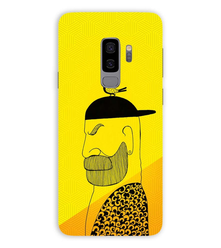 Common man Back Cover for Samsung Galaxy S9+ (Plus)