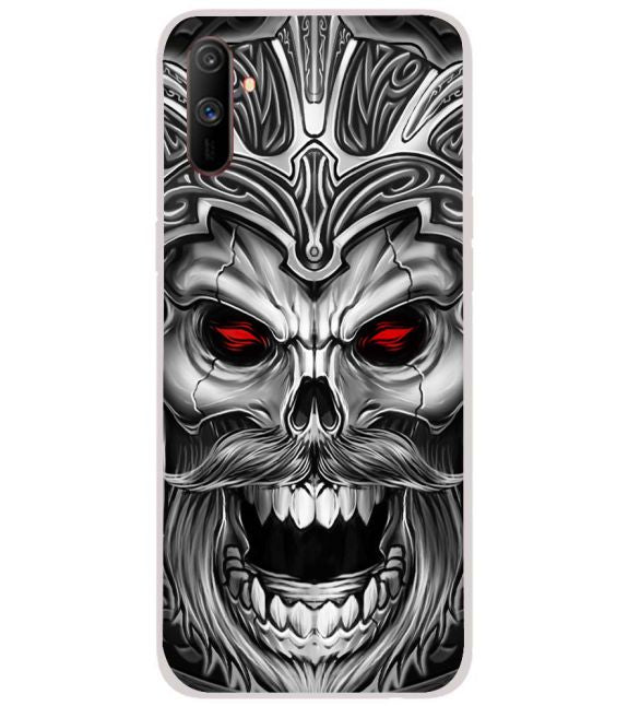 Cool Monster Back Cover for Realme C3