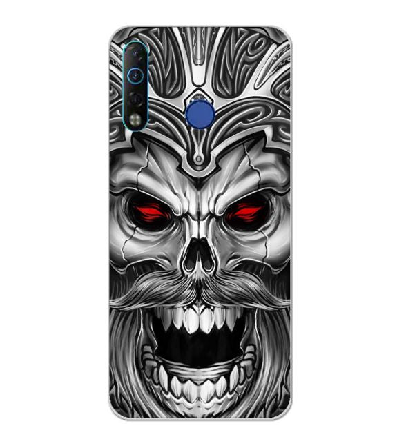 Cool Monster Back Cover for Tecno Camon 12 Air