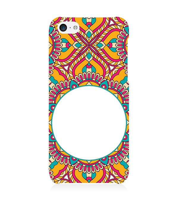 Cool Patterns Photo Back Cover for Apple iPhone 5c
