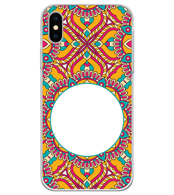 Cool Patterns Photo Back Cover for Apple iPhone X