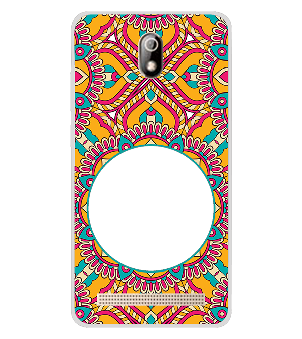Cool Patterns Photo Back Cover for Comio C1 Pro