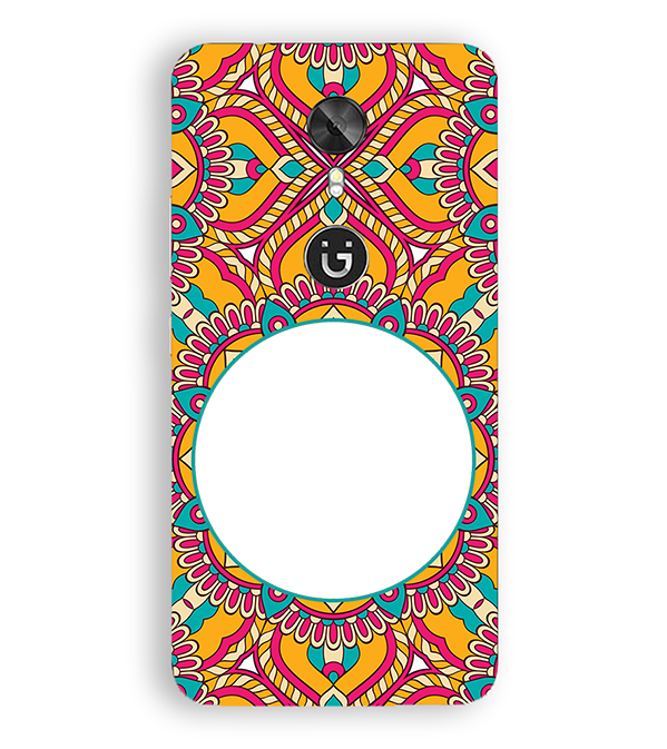 Cool Patterns Photo Back Cover for Gionee A1