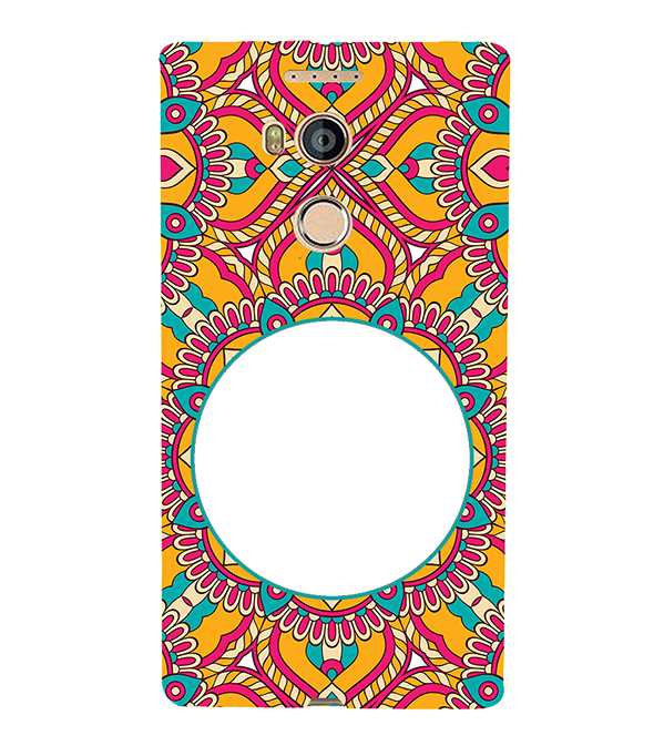 Cool Patterns Photo Back Cover for Gionee Elife E8