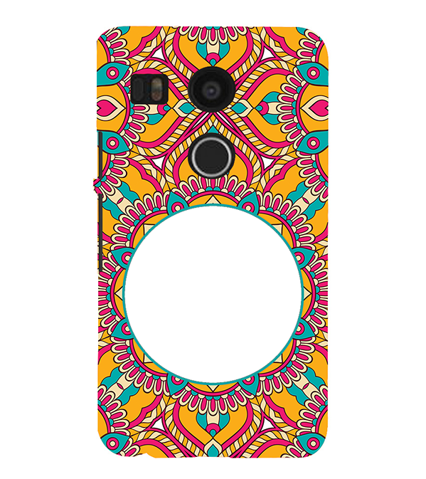 Cool Patterns Photo Back Cover for Google Nexus 5X
