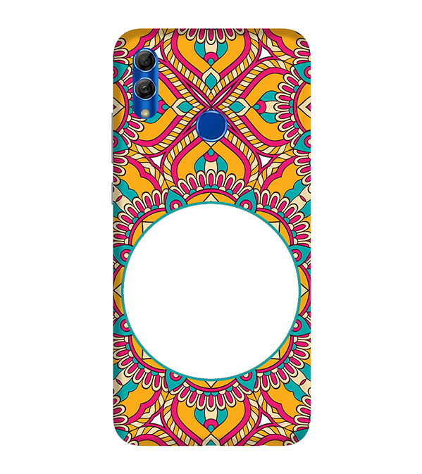 Cool Patterns Photo Back Cover for Honor 10 Lite