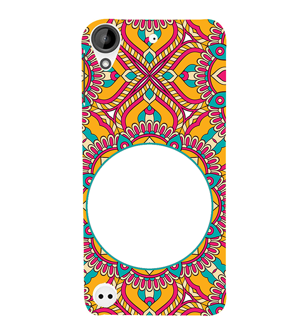 Cool Patterns Photo Back Cover for HTC Desire 530