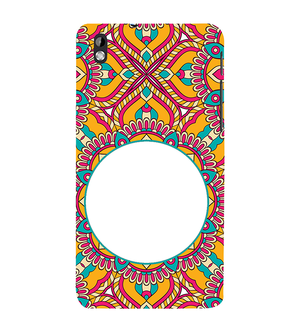Cool Patterns Photo Back Cover for HTC Desire 816