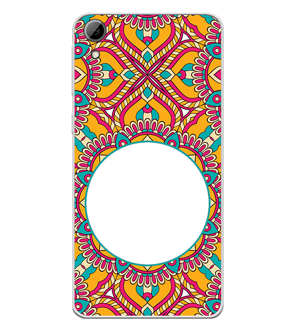Cool Patterns Photo Back Cover for HTC Desire 826