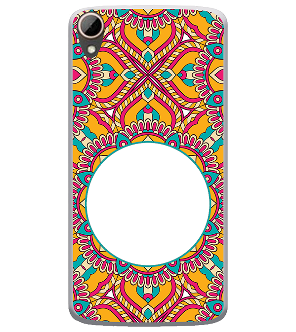 Cool Patterns Photo Back Cover for HTC Desire 828