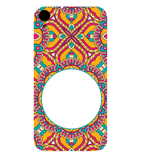 Cool Patterns Photo Back Cover for HTC Desire 830