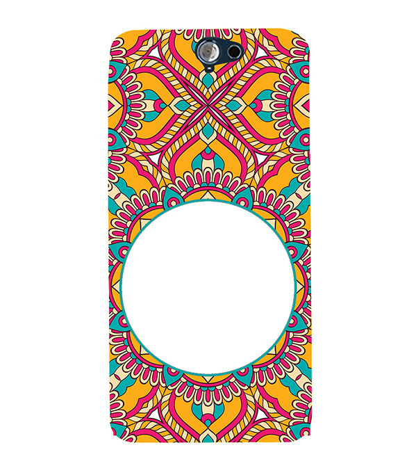 Cool Patterns Photo Back Cover for HTC One A9