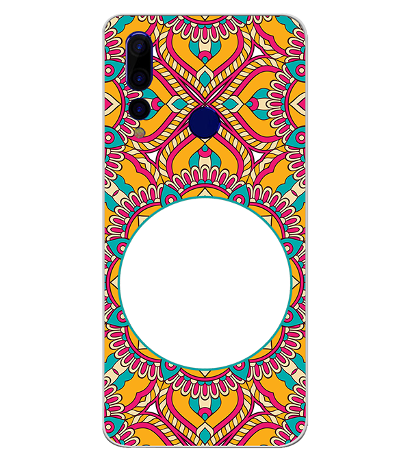 Cool Patterns Photo Back Cover for HTC Wildfire X