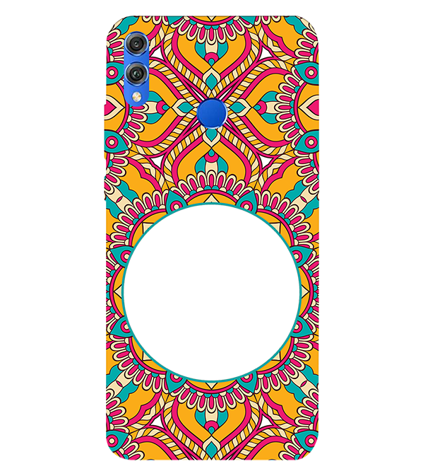 Cool Patterns Photo Back Cover for Huawei Honor 8X