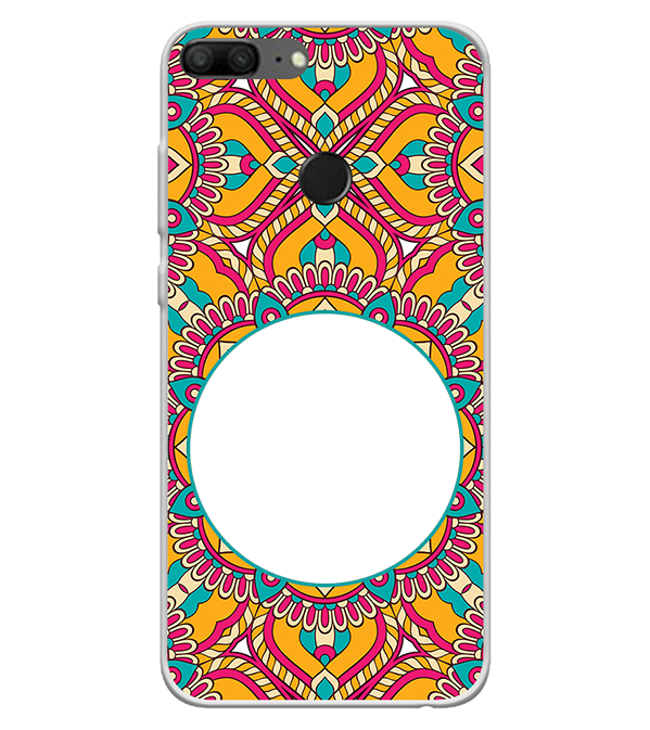 Cool Patterns Photo Back Cover for Huawei Honor 9 Lite
