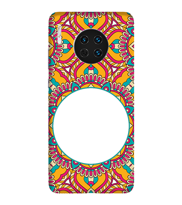 Cool Patterns Photo Back Cover for Huawei Mate 30
