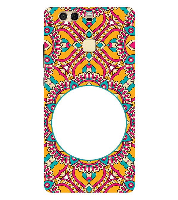 Cool Patterns Photo Back Cover for Huawei P9