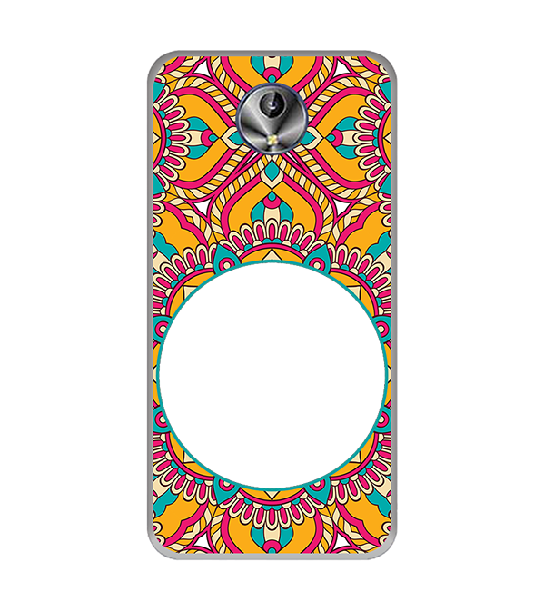 Cool Patterns Photo Back Cover for Intex Amaze+