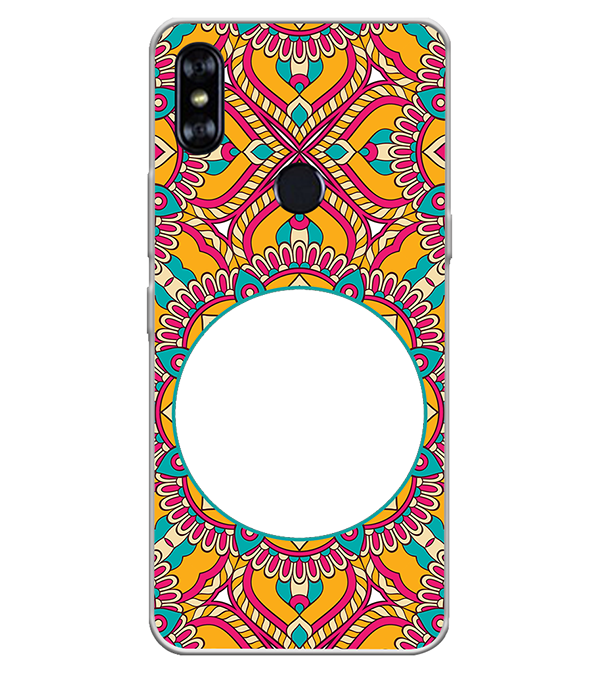 Cool Patterns Photo Back Cover for Itel A62