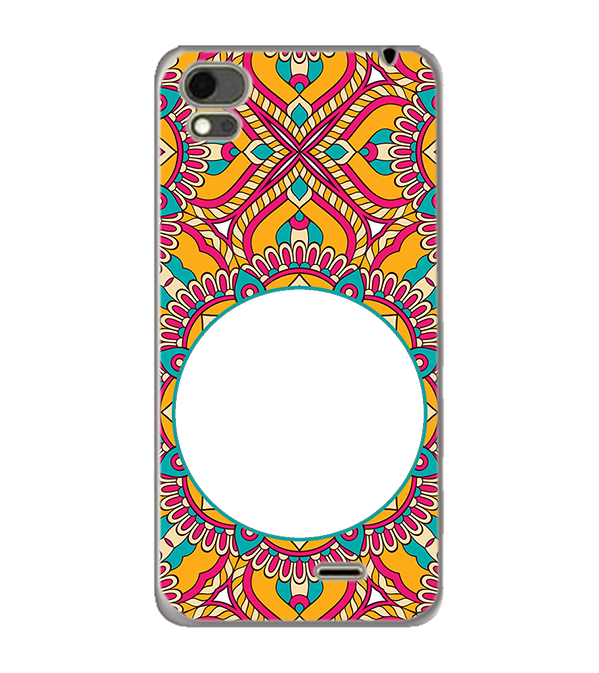 Cool Patterns Photo Back Cover for Karbonn Aura Note 4G