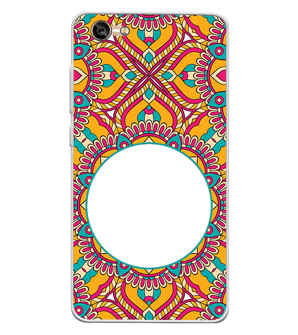 Cool Patterns Photo Back Cover for Lava A77