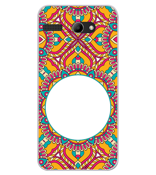 Cool Patterns Photo Back Cover for Lava Iris Atom X