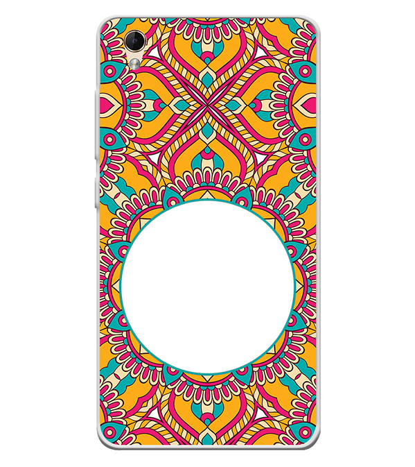 Cool Patterns Photo Back Cover for Lava Z60