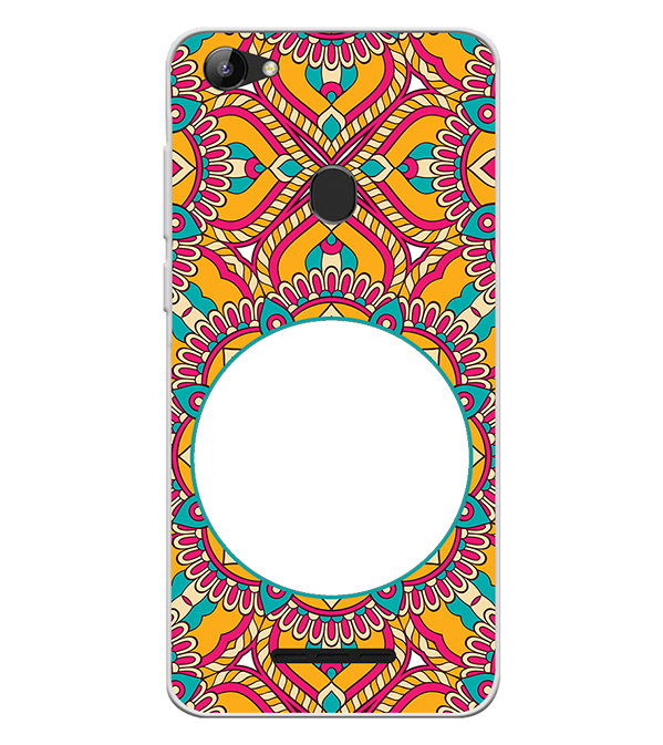 Cool Patterns Photo Back Cover for Lava Z81